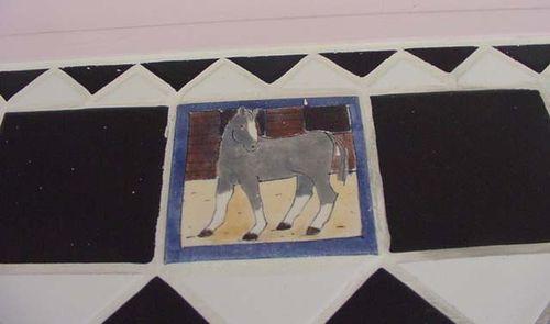 Horse tile 02.