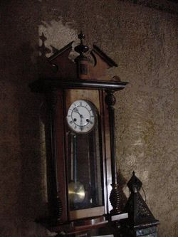 Light and shadow and clock